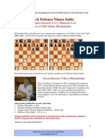 Defensa Nimzo India Variantes F3 y A3
