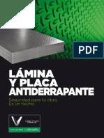 Lamina Placa Antiderrapante