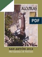 Programa de Fiestas San Anton 2014