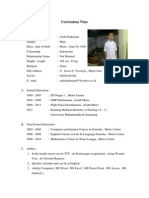 CV Andri Rukmana (G2A011007)