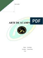 Arte de Acampar III