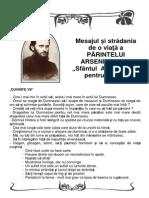 Brosura Mesajul Pr Arsenie Boca Pentru Romani