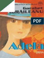 Ibraileanu Garabet - Adela (Aprecieri)