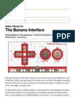 the banana interface   make