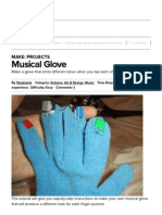 musical glove   make