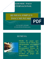 Remesa Simple Documentaria