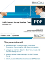 Livelink Enterprise Archive vs. SAP Content Server - DETAILED.ppt