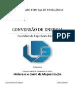 Relatório - Histerese Magnetica