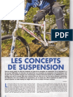 Les concepts de suspension