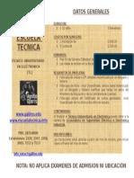 Tecnico Universitario en Electronica