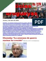 Noticias Uruguayas Viernes 3 de Enero 2014