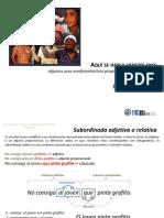 10-Espanol de Venezuela-Funciones Del Relativo en Las Hendidas