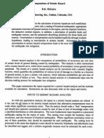 Computations of Seismic Hazard