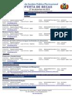 Becas EGPP a 3 de Enero de 2014
