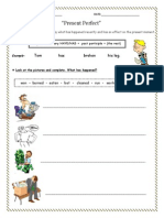 Present Perfect Worksheet (1)