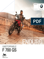 BMW Motorrad - Enduro - F 700 GS - MY 2014 - ESP en 1