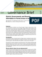District Governments and Poverty
