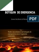 Botiquin de Emergencia Arenera San Benito DP