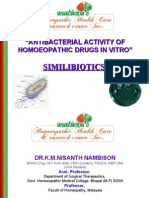 HOMEOPATHIC ANTIBACTERIALS IN LABORATORY
