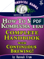 How to Make Kombucha Tea_ Complete Handbook