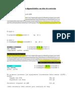 Diseño de oligonucleótidos con sitios de restricción
