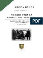 EVALUACION DE LOS RIESGOS PARA LA PROTECCION PERSONAL