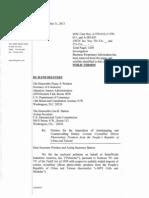 Solar Petition Injury & General Narrative