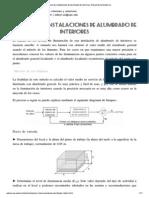 Cálculo de instalaciones...Manual de luminotecnia.