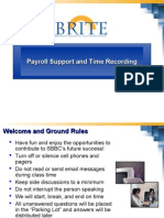 Payroll Support and Time Recording