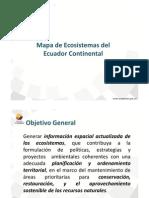 Mapa Ecosistemas Del Ecuador