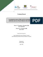Fish stock assessment training Manual