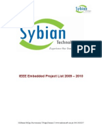 Sybian Embedded Projects 2009