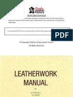 Leatherwork Manual by Al Stohlman AD Patten and JA Wilson