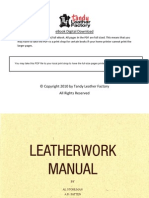Leatherwork Manual by Al Stohlman AD Patten and JA Wilson