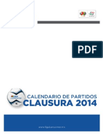 LIGA MX Clausura 2014