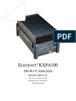 KXPA100 Owner's Manual