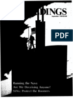 1989-09, Sep, Proceedings - (David Carlson, U.S. Naval Institute Proceedings, September 1989) the Vincennes Incident