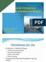 Planes de Emergencia Evaluacion y Analisis de Riesgos