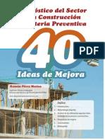 Diagnc3b3stico Del Sector de La Construccic3b3n en Materia Preventiva