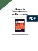 Manual de Procedimientos en Emergencias 2000