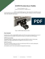 E740166 KXPD3 Paddle Instructions Rev D