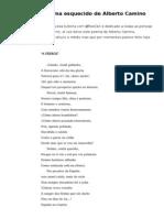 """""""A Ferrol"""", poema esquecido de Alberto Camino"""