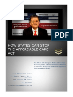 How States Can Stop Obamacare
