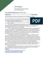 Pa Environment Digest Jan. 6, 2014