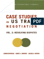 Case Studies in US Trade Negotiation