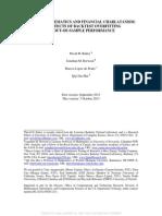 Pseudo-mathematics and Financial Charlatanism