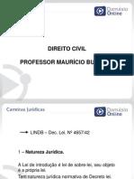 PPT DireitoCivil Aula01 Professor MauricioBunazar TRT