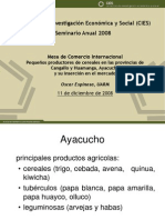 Comercio Internacional Oscar Espinoza