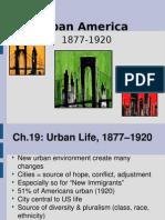 Chap 19 Urban Life
