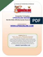 1.1 Seri Panduan Sukses - Bentuk Soal Cpns (1)